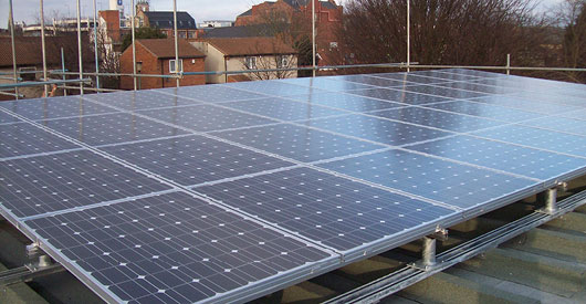Photo-Voltaic Solar Panels installed on 65 Houses, 3 Schools + 1 Community Building
